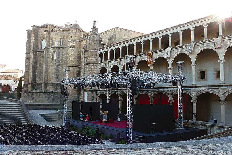 Suspendida la XXXV edición del Festival de Teatro Clásico de Alcántara