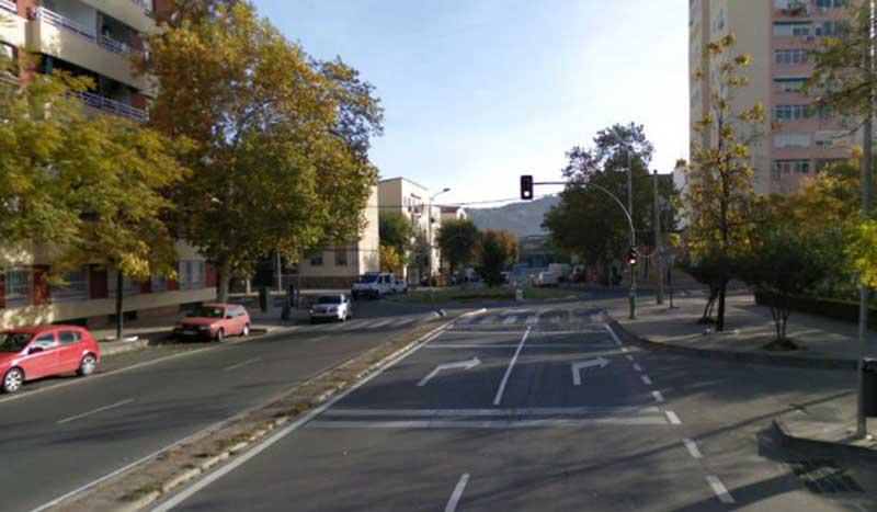 Varias calles del centro de Cáceres permanecerán cortadas por obras de asfaltado