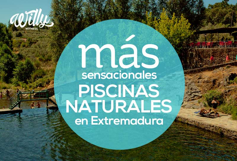 Willy witness m s sensacionales piscinas naturales en for Piscinas naturales extremadura