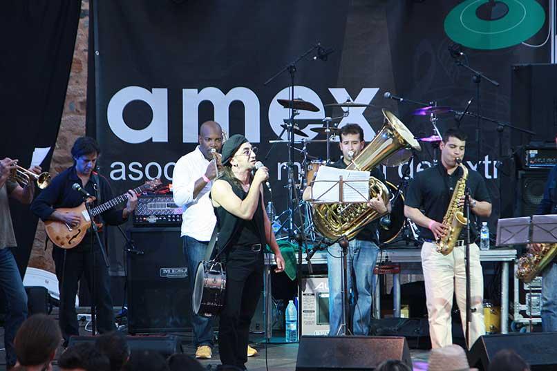 Seis grupos extremeños actuarán en el Escenario AMEX