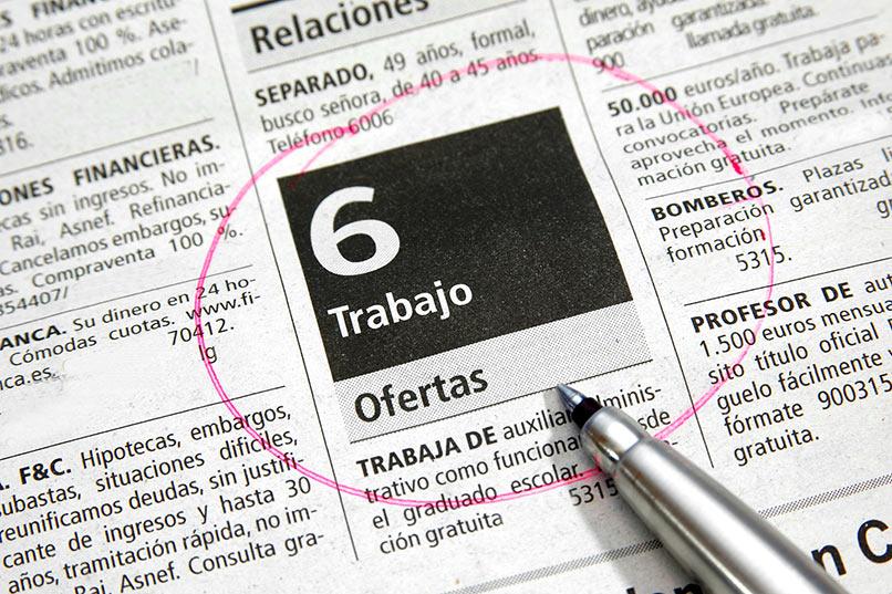 El paro baja en 7.311personasen julioen Extremadura