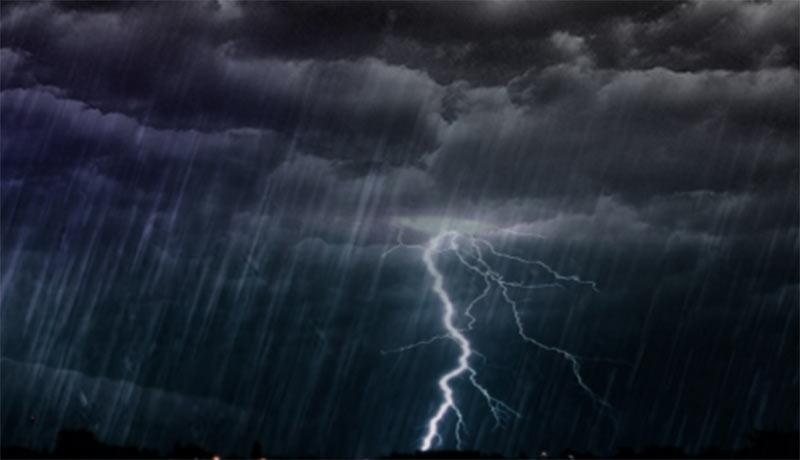 Septiembre arranca con chubascos y tormentas