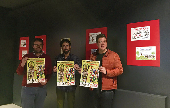El Artista Gráfico Jairo Jiménez Expone Viñetas De Jarramplas En