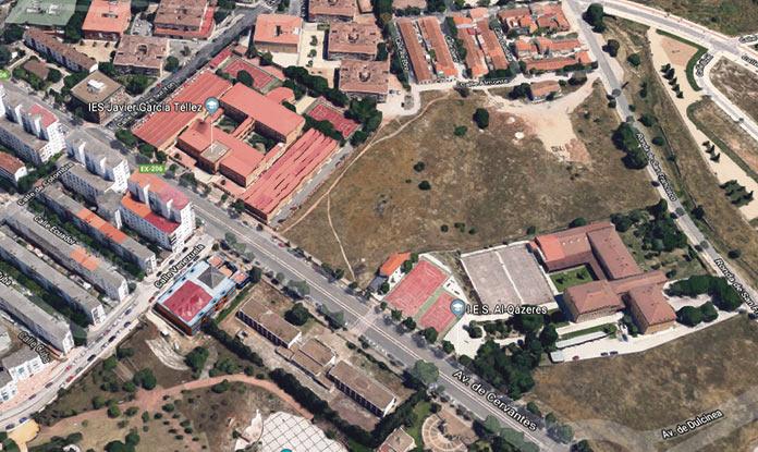 Remodelación de la red de saneamiento en varios barrios de Cáceres