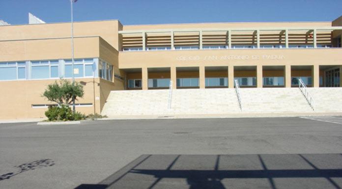 El Colegio San Antonio de Padua, Medalla de Cáceres