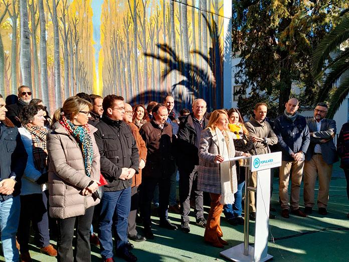 Presentación Candidatura Elena Nevado PP Partido Popular