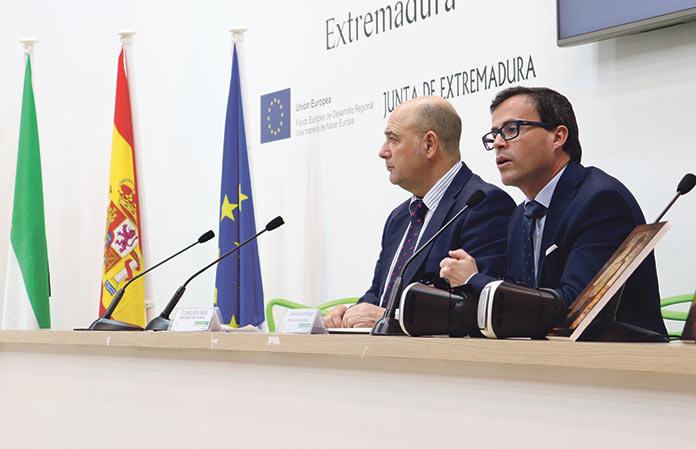 Tecnología punta para fomentar el turismo en la provincia de Badajoz. Diputación de Badajoz