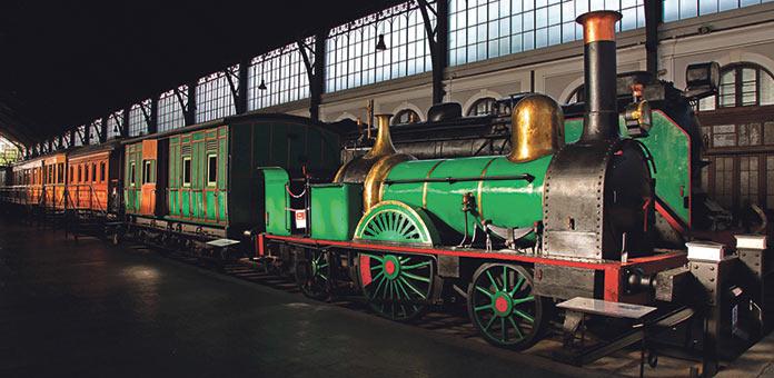 Cipriano Segundo Museo Ferrocarril Madrid