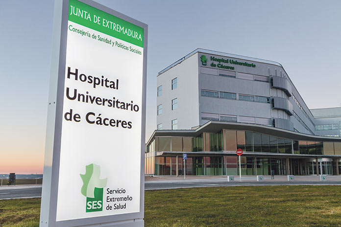 Hospital Universitario Cáceres: radioterapia intrraoperatoria