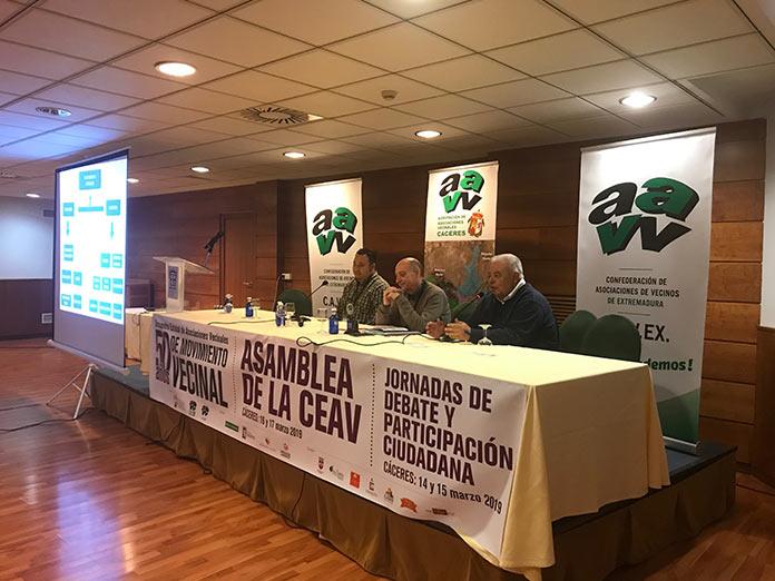 Asamblea Ceav Cáceres