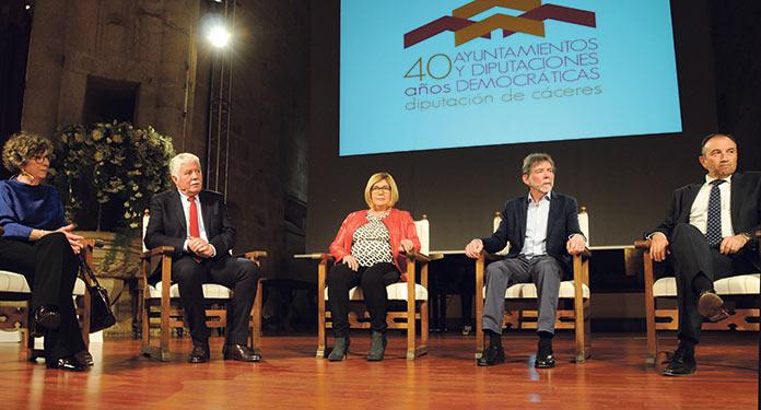 40 años de Diputación de Cáceres