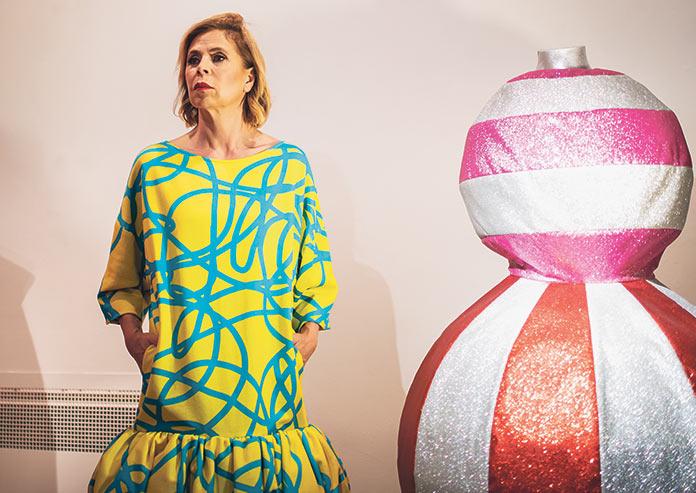 Exposición de Ágatha Ruiz de la Prada en el Fundación Mercedes Calles