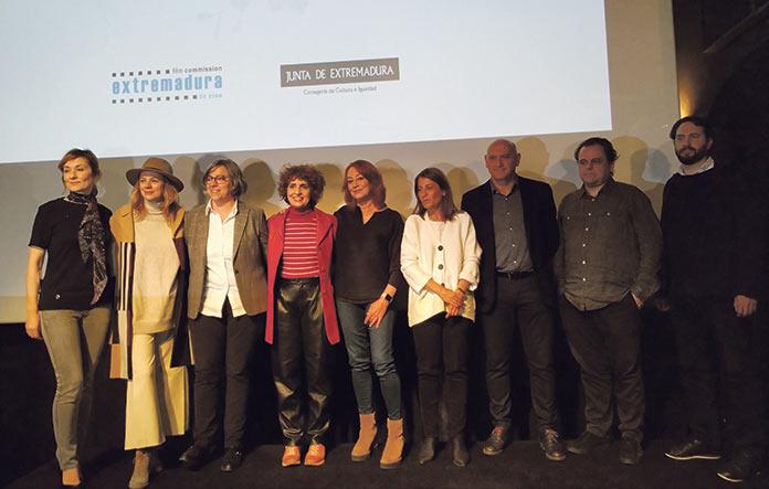 Presentación del rodaje de 'Insivisibles' de Gracia Querejeta