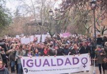 Manifestación 8 de Marzo. Feminismo.