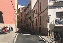 Las calles Parras, San Antón y Clavellinas, cortadas al tráfico por dos semanas