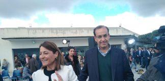 Elena Nevado y Rafael Mateos