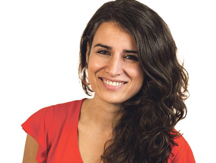 Irene de Miguel, candidata a la Junta de Extremadura por Unidas Podemos