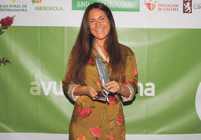 Celia Romero. Premios Avuelapluma 2019