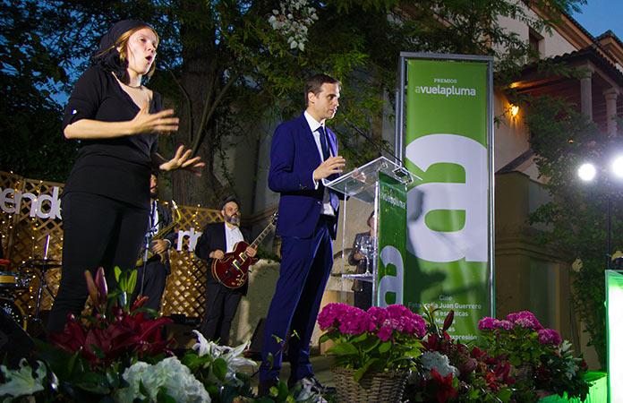 Conrado Gómez. Premios Avuelapluma 2019