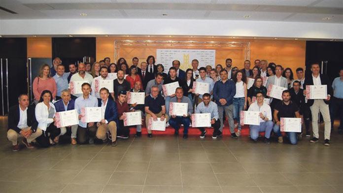 Escuela Deportiva Guadalupe de Badajoz. Premio Espiga de Oro
