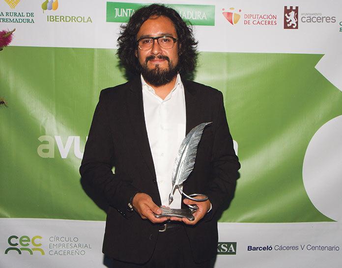 Jorge Armestar. Premio Avuelapluma 2019