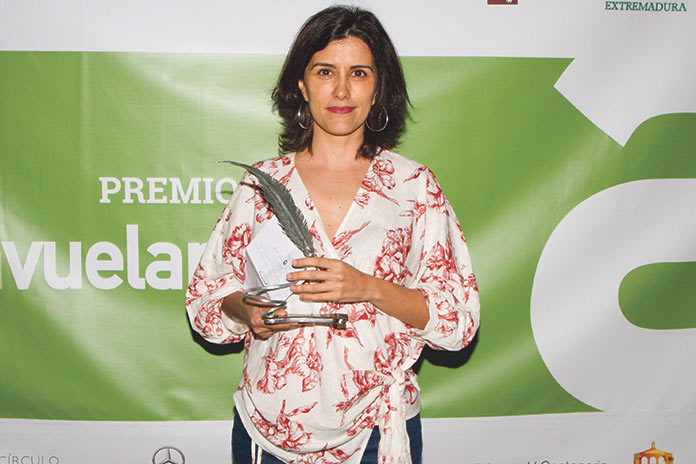 Olga Rodríguez. Premio Avuelapluma 2019