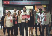 Victoria socialista en Cáceres. Luis Salaya. Elecciones 26M