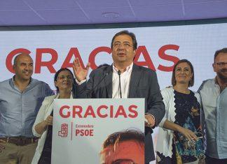 Mayoría absoluta en Extremadura de Vara