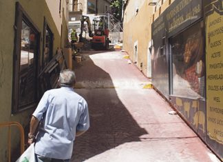 Se reanudan las obras de Alzapiernas