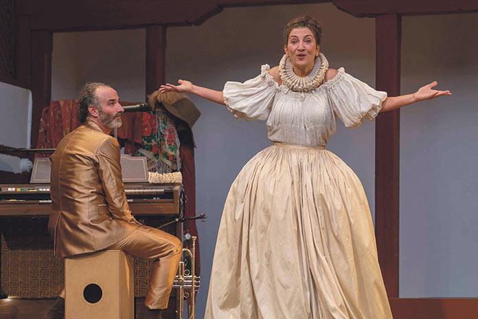 La Baltasara. Festival de Teatro Clásico de Cáceres. Inma Chacón.