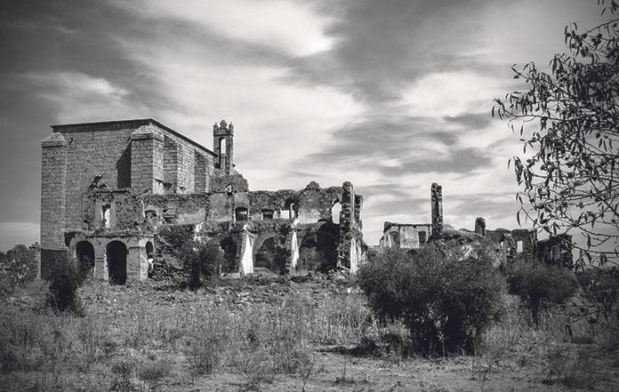 Arte en ruinas