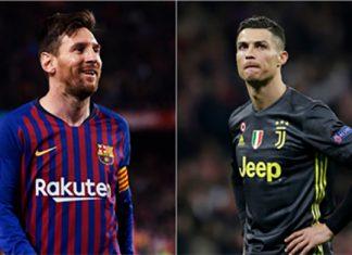 Balón de oro. Messi y Ronaldo.