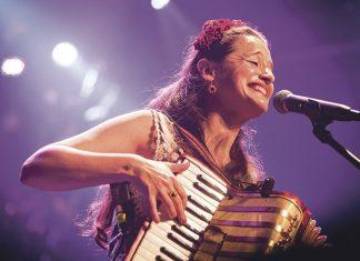 Pascuala Ilabaca en los Conciertos del Pedrilla
