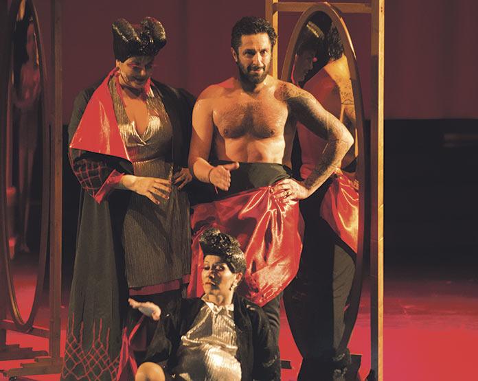 Rafael Amargo. Dionisio. Festival de Teatro Clásico de Mérida