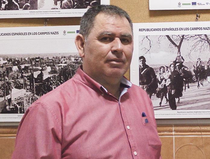 Pepe Hinojosa. Cárcel Vieja. Memoria histórica Cáceres.