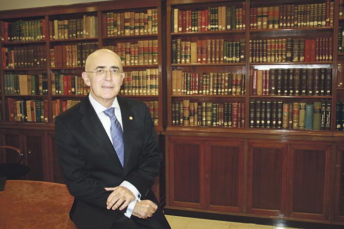 Carlos R. Arjona Mateos, presidente del Colegio de Médicos de Cáceres. Sanidad Cáceres.