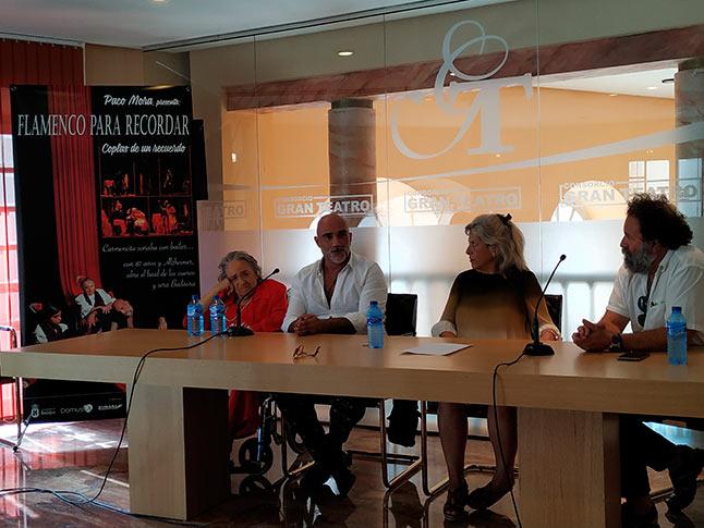 Flamenco para recordar en el Gran teatro de Cáceres