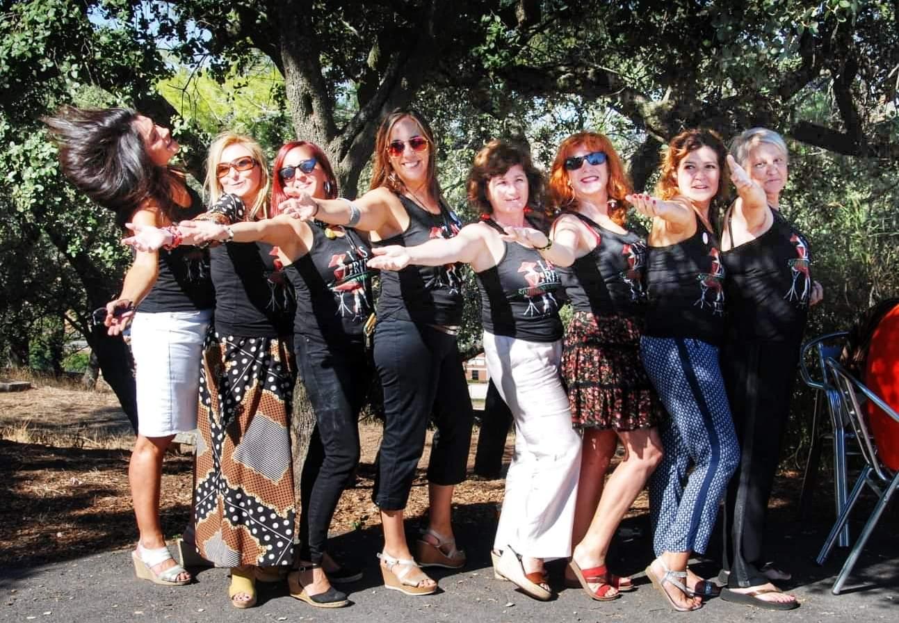 Las Ritas. Cañas solidarias en el Paseo Alto