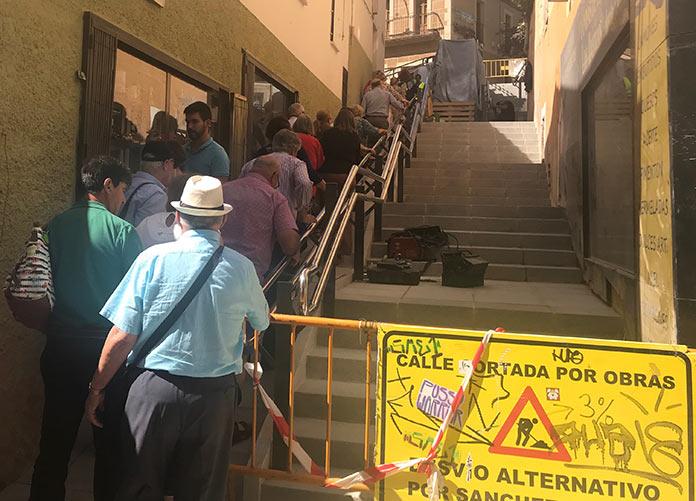Goyo Tovar. Alzapiernas, calle Parras