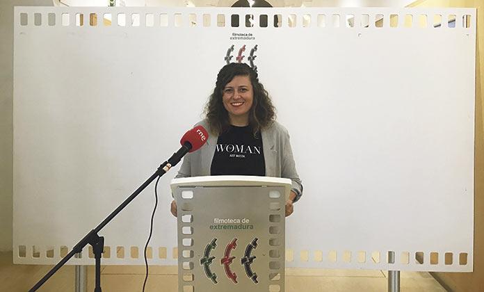 Natalia Rodrigo presenta la programación de septiembre en la FIilmoteca