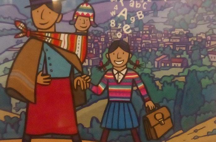 Derechos Humanos en las paredes de El gran Café de Cáceres. Exposición de Amnistía Internacional