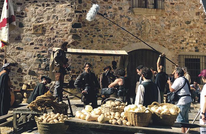 Inés del alma mía, protagonizada por Eduardo Noriega y rodada en Cáceres