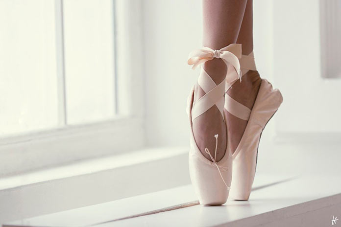 Zapatillas de Ballet. Cora Ibáñez.