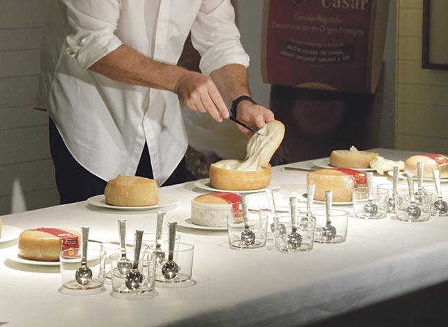 Iberqués, ganadora de la XIX Cata Concurso de Torta del Casar
