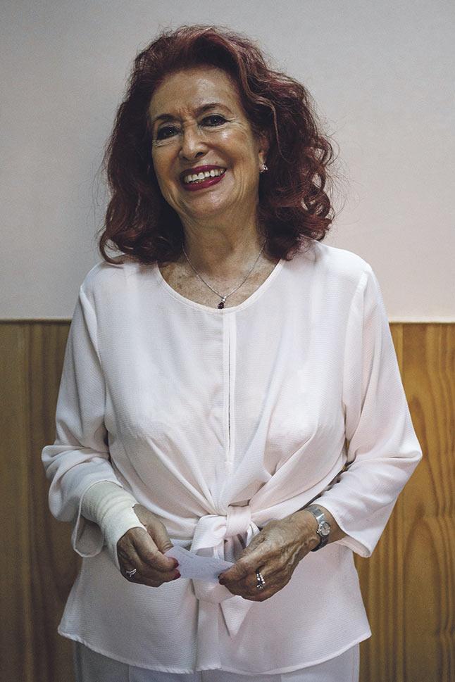 Lidia Falcón. El feminismo debe tomar el poder político.