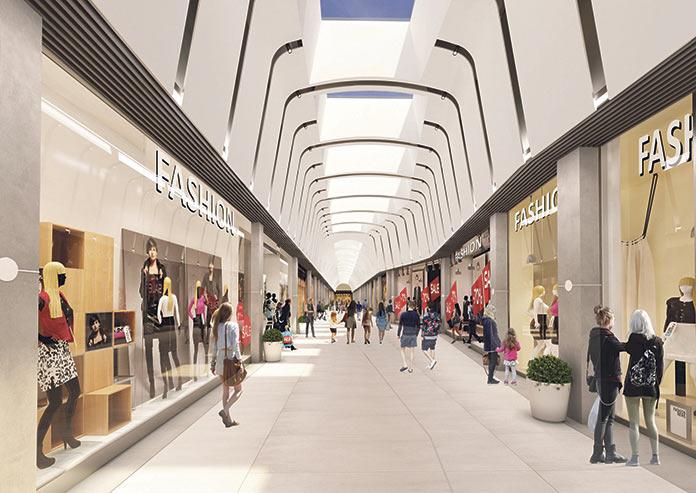 El nuevo centro comercial Ruta de la Plata