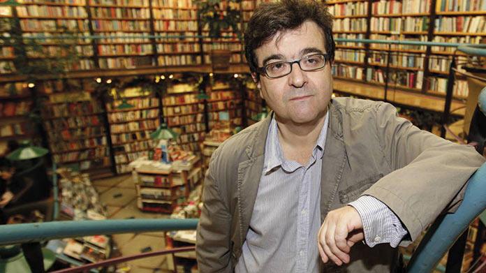 Rosas en el mar. Javier Cercas, premio Planeta. Carmen Heras.