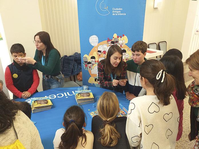 Encuentro de participación infantil