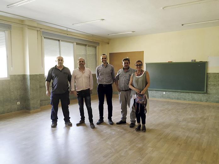 El colegio público Nuestra Señora de la Luz mejora en sostenibilidad y accesibilidad