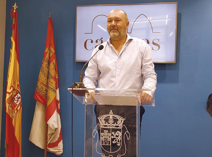 Suspensión cautelar de militancia De Francisco Alcántara
